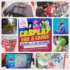 #torneo de #gaming  parte del evento Cosplay for a Cause!! #gamers #PuertoRico #mariokart8 #retrogaming