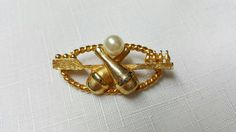 RESERVED SG Avon Bowling Brooch #avonjewellery #jewellery