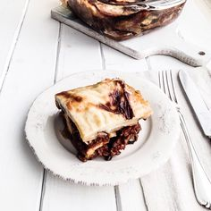 inspired by - Hearty meal by & Moussaka, Eggplant, Cinnamon, Potatoes, Tasty, Lunch, Seasons, Homemade, Meals