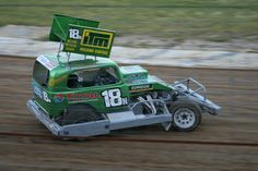 Shane Harwood racing at Huntly Speedway for the 2011-2012 New Zealand Superstock Champs