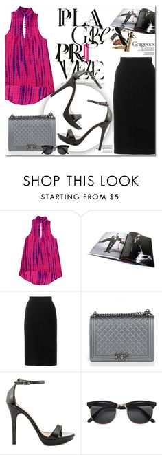 """""""YDNshoes"""" by oshint ❤ liked on Polyvore featuring Oscar de la Renta, Chanel, shoes and YDNshoes"""