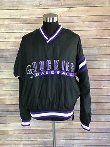 new products a3f49 07e72 Vintage Colorado Rockies Pullover Jacket Windbreaker MLB ...