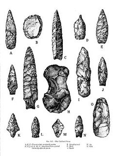 Recent native American projectile points and tools found