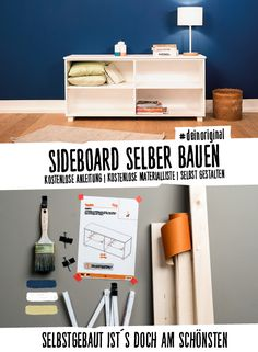 sideboard thea selber bauen aufbewahrung regale jetzt selber bauen diy pinterest sideboard. Black Bedroom Furniture Sets. Home Design Ideas
