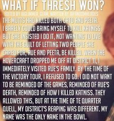 What if Thresh won The Hunger Games? #thewrongvictors