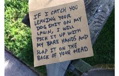 The 33 Funniest Passive-Aggressive Notes From Neighbors Ever Written (Slide #1) - Offbeat