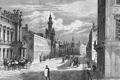 Engraving from 'Old & New Edinburgh'  -  George IV Bridge