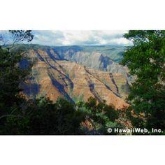 Waimea Canyon, Kauai.  The Grand Canyon of the Pacific...great hiking and nice cabins/camping