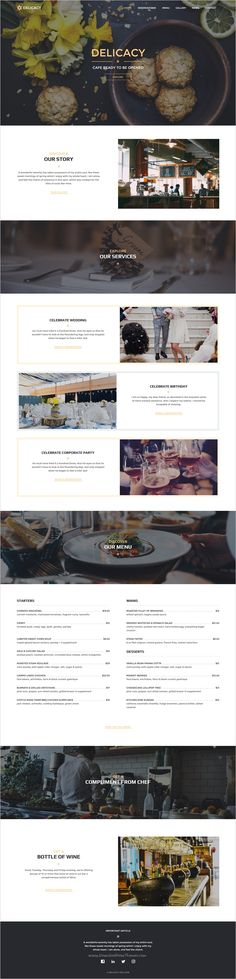 Delicacy is beautifully design premium #Muse #template for #Restaurants, Cafes, Bars and Pubs, Food stores website download now➯ https://themeforest.net/item/delicacy-bistro-cafe-and-restaurant-responsive-muse-template/17090775?ref=Datasata
