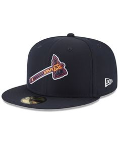 91503e2964250 New Era Atlanta Braves Batting Practice Pro Lite 59FIFTY Fitted Cap - Blue 7