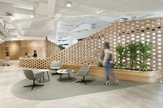 Reception area and waiting area from ADCO Constructions Offices - Melbourne