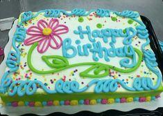 Fun happy birthday cake