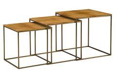 Cubed Nesting Tables, Set of 3 on OneKingsLane.com