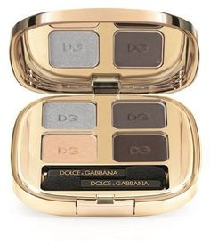 Pin for Later: 30 Makeup Palettes That Make Amazing Gifts Dolce & Gabbana Smooth Eyeshadow Quad Smokey Eyes Dust Dolce & Gabbana Smooth Eyeshadow Quad Smokey Eyes Dust (£42)
