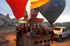 Personally, no sunrise hot air balloon ride could beat Cappadocia's. Rainbow Balloon Co. was super and the views... out-of-this-world!! Archaeologous.com can assist you to get here. #HotAirBalloonRides #Turkey #TurkeyVaation #MultiDayVacations # Balloon Rides, Air Balloon, Away We Go, Greece Vacation, Meeting New People, Day Tours, Greek Islands, Dream Vacations, The Good Place
