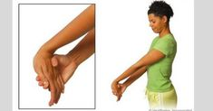 If you experience Carpal Tunnel symptoms and discomfort - these exercises may work very well for you. Learn more about carpal tunnel relief exercises here. Carpal Tunnel Relief, Carpal Tunnel Syndrome, Carpal Tunnel Exercises, Stretching Exercises, Tennis Elbow Exercises, Forearm Workout At Home, Warm Up Stretches, Elbow Stretches, Elbow Pain