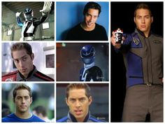"""Schuyler """"Sky"""" Tate(S.P.D. Blue Ranger) Power Rangers Spd, Power Rengers, Abc Family, Cute Guys, Pretty Boys, Movie Tv, Kids Outfits, Funny Pictures, Hero"""