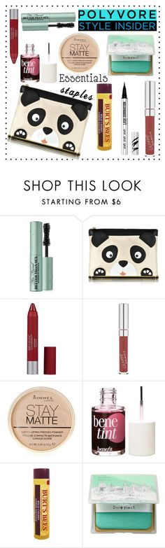 """Simple 'Plan"" by aichi ❤ liked on Polyvore featuring beauty, Too Faced Cosmetics, Charlotte Olympia, Revlon, Rimmel, Benefit, too cool for school, Bare Escentuals, contestentry and PVStyleInsiderContest"