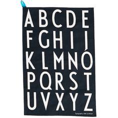 Arne Jacobsen keittiöpyyhkeet, musta, 2 kpl, 17€