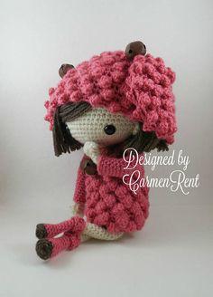 Mayte 17 Amigurumi Doll Crochet Pattern PDF