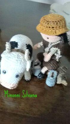 vaccaro# presepe#crochet #amigurumi#uncinetto