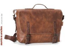 aunts & uncles - Buddy Postbag in hazelnut