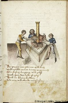 Literary, MS M.763 fol. 107r - Images from Medieval and Renaissance Manuscripts - The Morgan Library & Museum