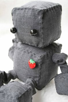Robot with a strawberry? How perfect!
