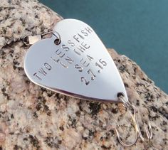 Two Less Fish in the Sea Engagement Photo Prop by CandTCustomLures, $23.00