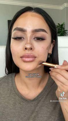 Smoke Eye Makeup, Shimmer Eye Makeup, Bronze Eye Makeup, Eyebrow Makeup Tips, Makeup Eye Looks, Contour Makeup, Contouring And Highlighting, Makeup Videos, Skin Makeup