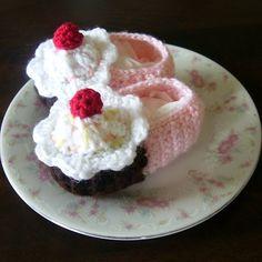 Crochet Slippers, so cute!!