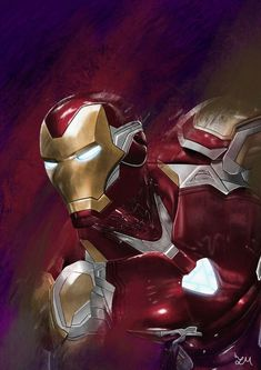 Marvel Comics, Arte Dc Comics, Marvel Art, Iron Man Hd Wallpaper, Avengers Wallpaper, Marvel Universe, Iron Spider Suit, Iron Man Drawing, Marshmello Wallpapers