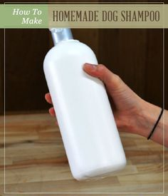 DIY Dog Shampoo| Make this simple natural dog shampoo for your favorite furry friend! #pioneersettler
