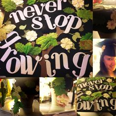 Graduation cap designed by yours truly Congrats Class of 2013!!