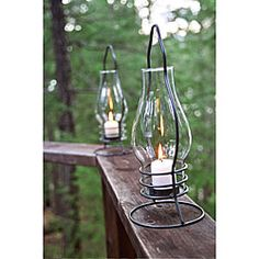 Iron Table Lantern - lanterns being my other obsession.