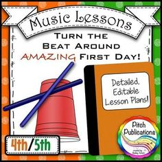 This is a GREAT lesson for the first day of music! I can't wait to use it! #pitchpublications #musictpt #elmused music education