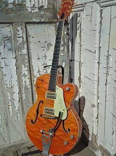 1960 Gretsch great finish, played it at Capsule in toronto. I wish I had the money Music Guitar, Cool Guitar, Elvis Presley, Chet Atkins, Bass Amps, Fender Guitars, Black Books, Gretsch, Vintage Guitars