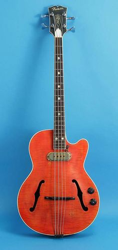 1957 Premier Bass - All sorts of sexy!