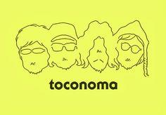 toconoma // band logo