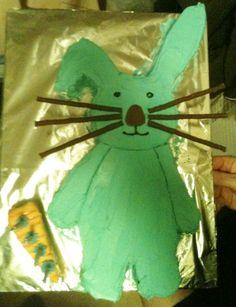Blue rabbit for Matt.