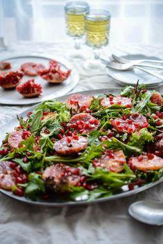 Blood Orange and Pomegranate Salad | The Hungry Australian