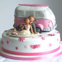 Image detail for -pink vw cake by gorgeous cakes