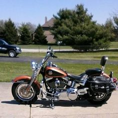 2008 Harley Davidson Heritage Softail Classic CVO, Price:$11,000. Clayton, Indiana #harleydavidsons #harleys #softail #motorcycles #hd4sale