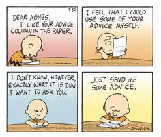 Being Charlie Brown- this seriously sounds like some of the emails I get. LOL