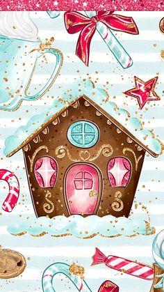 Christmas Drawing, Christmas Love, A Christmas Story, Christmas Pictures, Winter Christmas, Christmas Phone Wallpaper, Holiday Wallpaper, Winter Wallpaper, Cute Christmas Backgrounds
