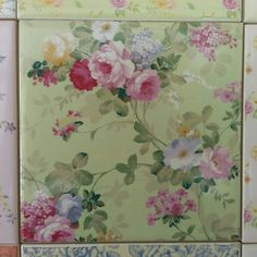 Floral Tiles Ceramic Wall Tiles With Flower Designs