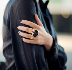 YSL arty ring. can't put it down