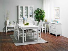 Laulumaa Huonekalut - Ruokailuhuone / keittiö - Laulumaa Ida® - valkoinen Table, Furniture, Home Decor, Decoration Home, Room Decor, Tables, Home Furnishings, Home Interior Design, Desk