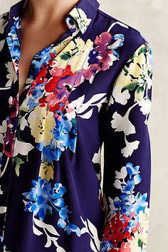 Neotropic Silk Shirt - anthropologie.com