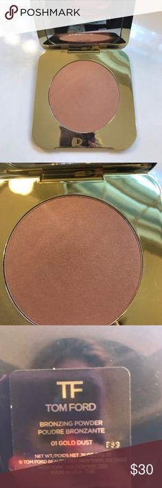 Tom Ford barely used bronzing powder Used once. Tom Ford Makeup Bronzer